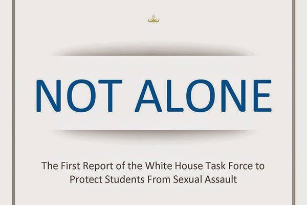 White House - Not Alone Report