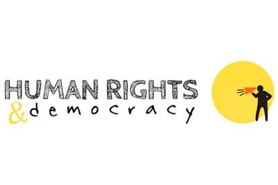 Human rights & democracy logo