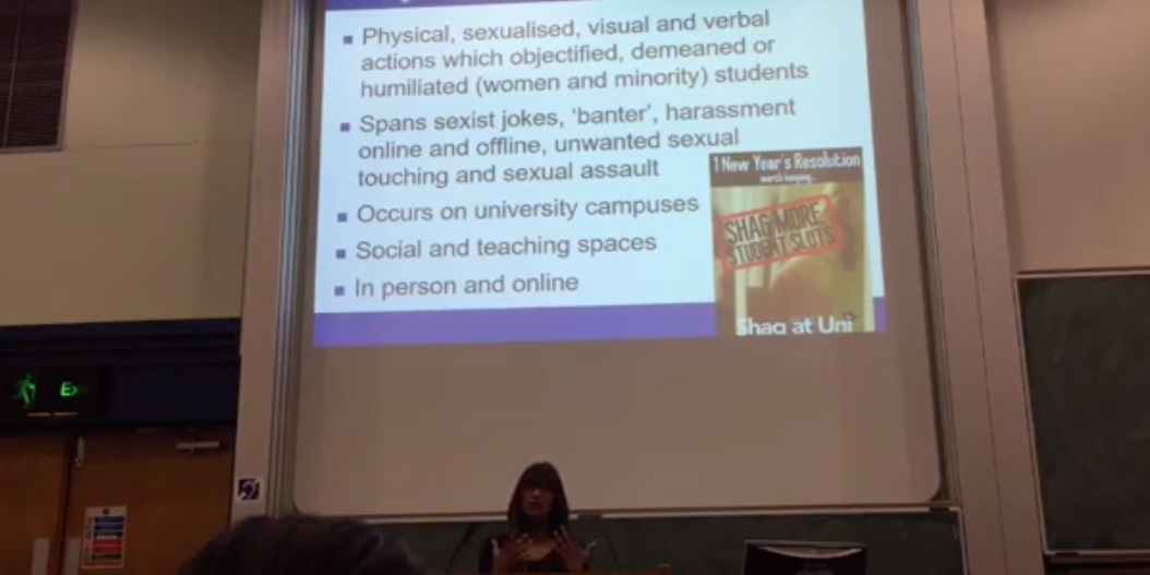 Lecture Lad Culture in Higher Education – USV React