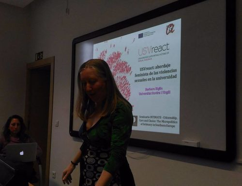 "Talk available ""USV React: a feminist approach to the issue of sexual violences at university"""