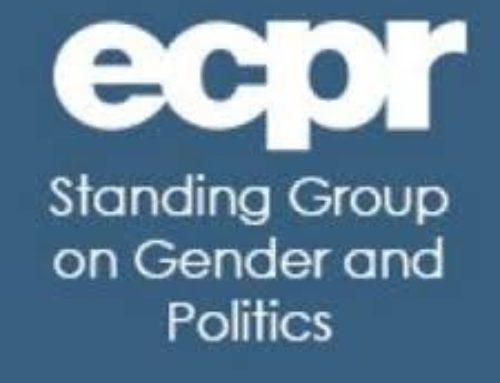 Sara Cagliero participó en la 5a Conferencia europea en Políticas y Género (ECPG)