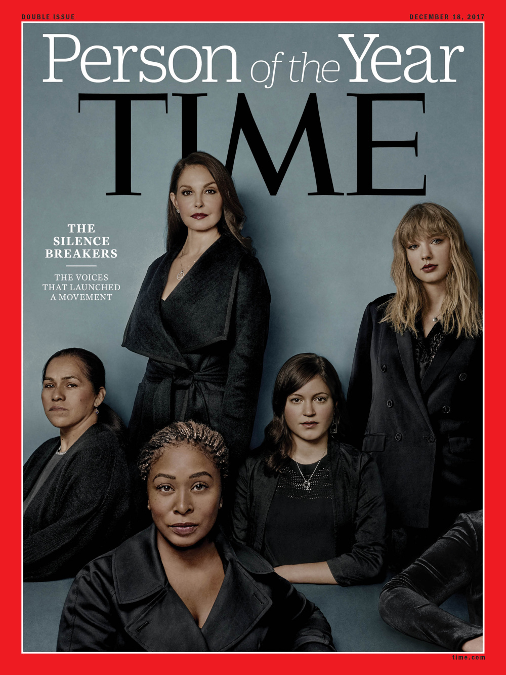 El TIME declara persona(s) del año a las que han roto el silencio sobre las violencias sufridas
