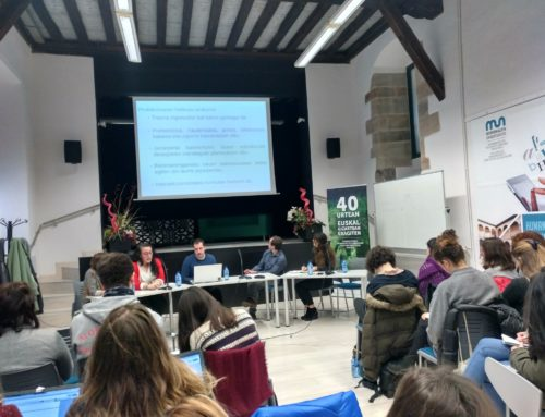 In Eskoriatza in conference on sexist harassment and gender-related violence in universities