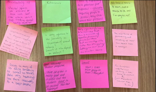 Comments received from USVreact Conference participants