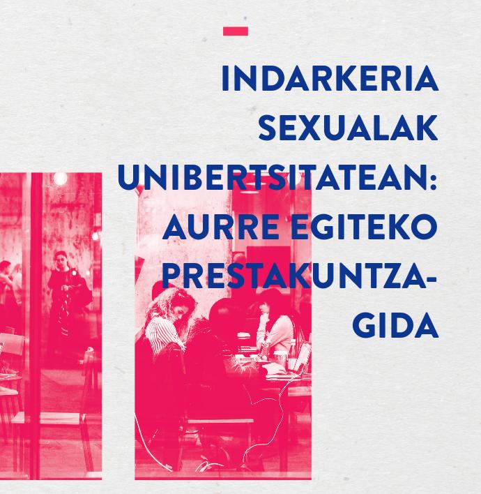Indarkeria Sexualak Unibertsitatean – Aurre egiteko prestakuntza gida