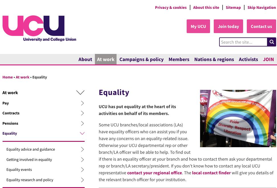 UCU sexual harassment helpline launched