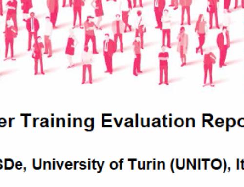 Turin Training Evaluation Report