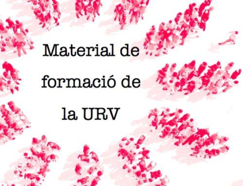 Material de formació de la URV