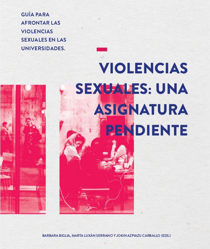 Guia per afrontar les violències sexuals a les universitats
