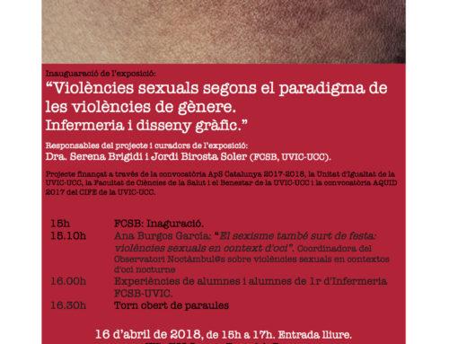 Exposiciò sobre violencies sexuals a VIC