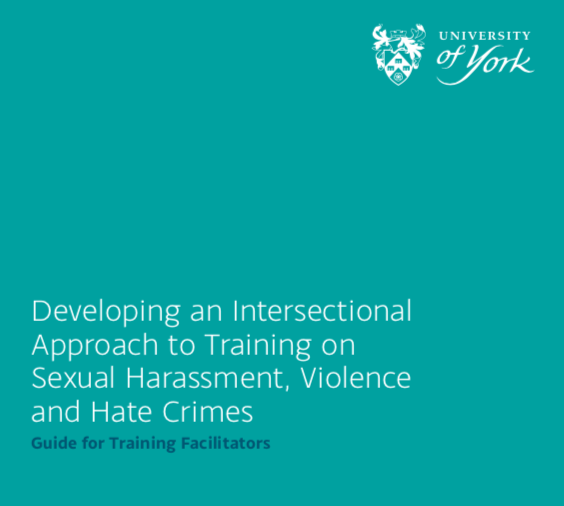 New guide for training facilitators with an Intersectional approach…
